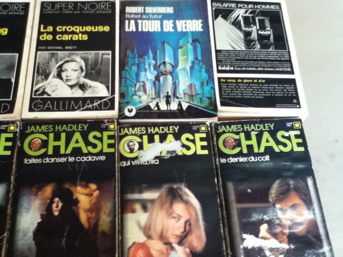French Pulp Fiction - more covers