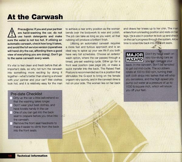 Carma Sutra - At the carwash