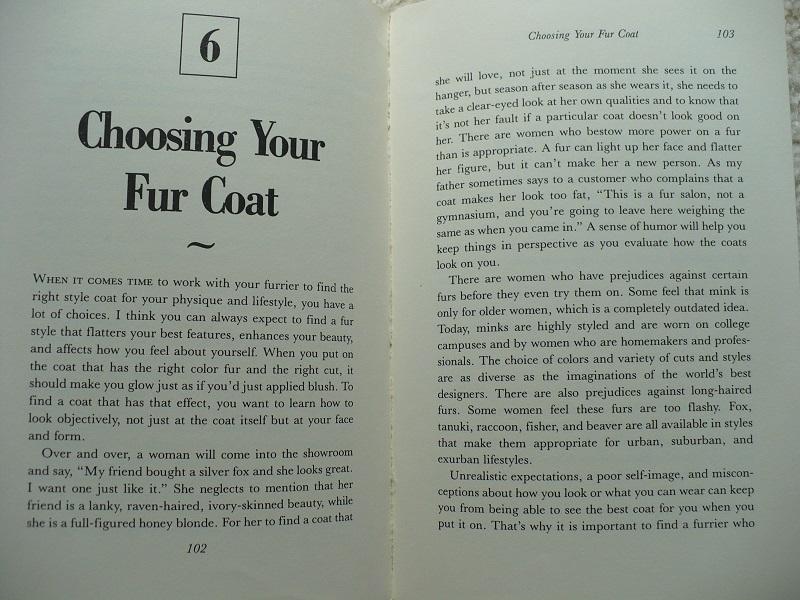 Choosing Your Fur Coat