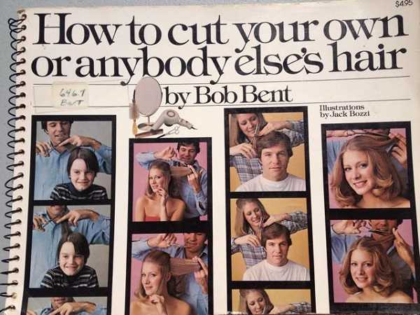 How to cut hair cover