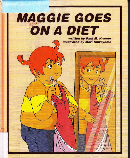 maggie goes on a diet picture book