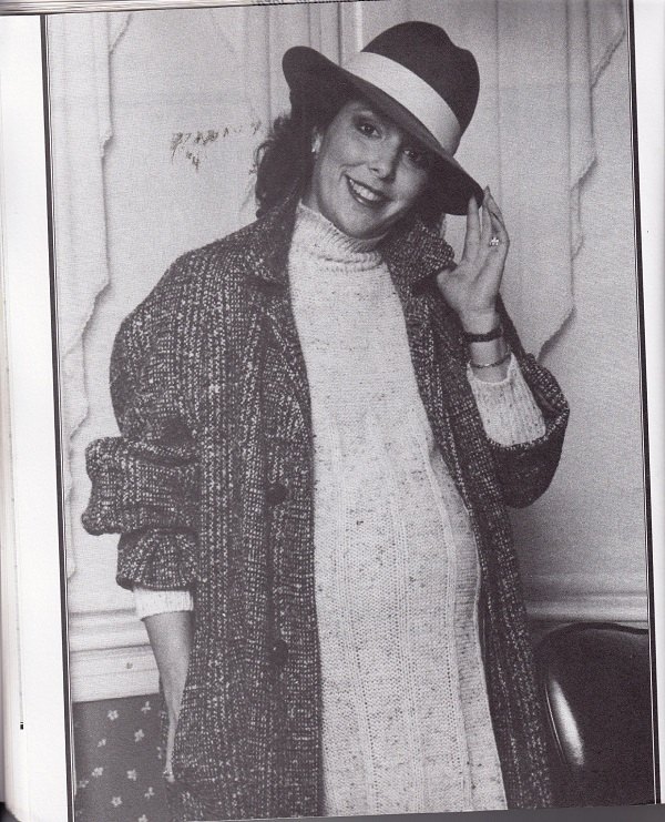 maternity style hat