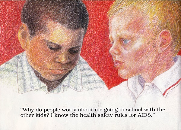 health safety rules for aids