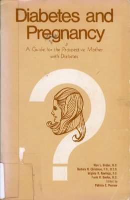 Diabetes and Pregnancy cover
