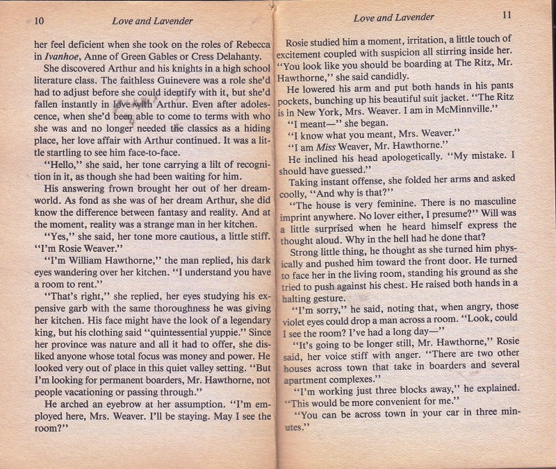 Love and Lavender pages 10-11