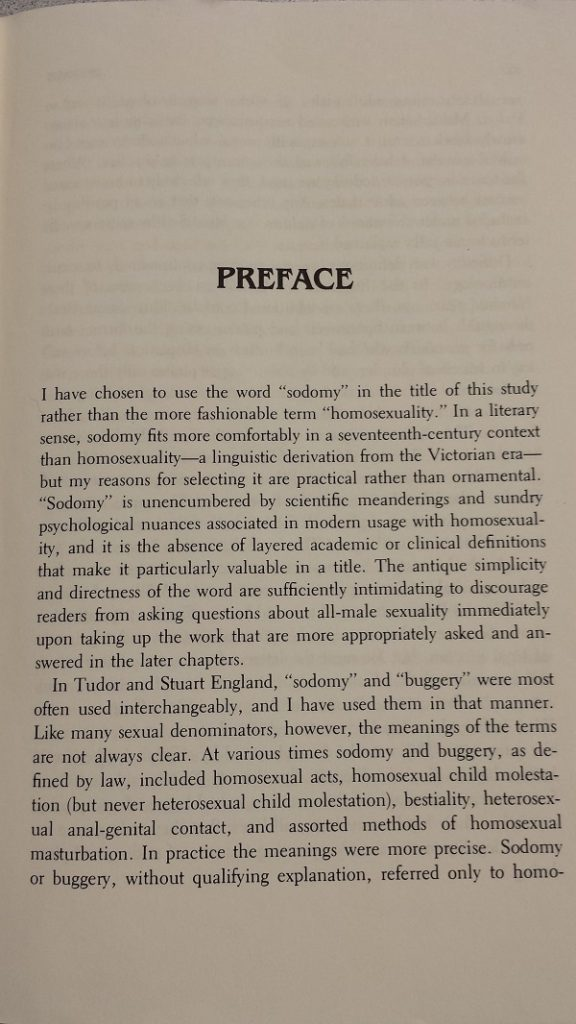 Sodomy and the Pirate Tradition Preface