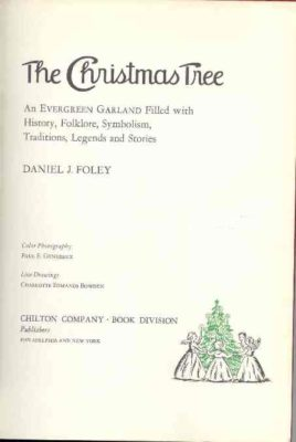 The Chrsitmas Tree title page