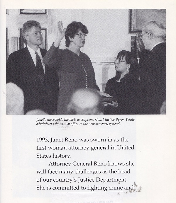 Swearing in as attorney general