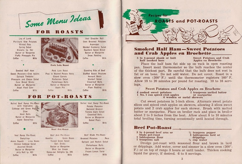 roasts and pot roasts