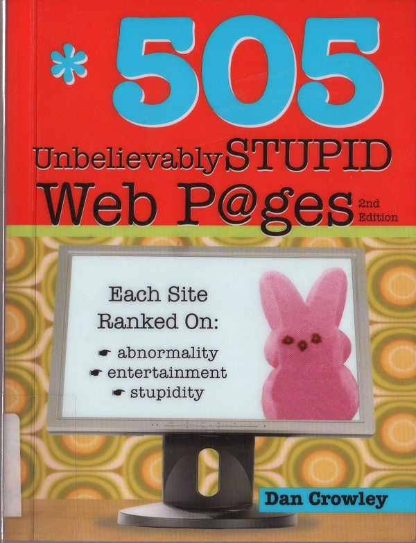 505 stupid web pages - cover