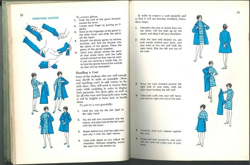 removing gloves
