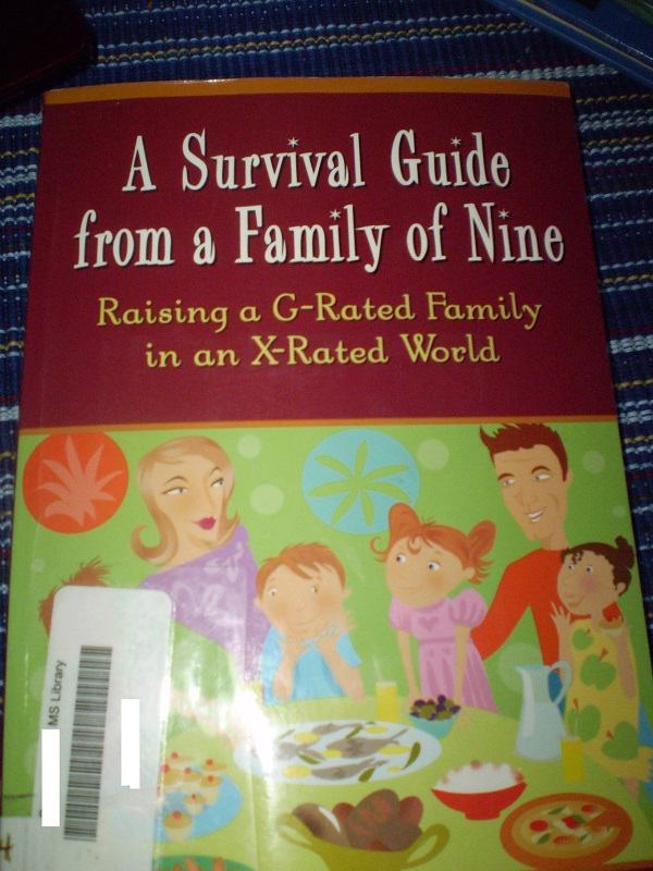 Survival Guide Family of Nine cover