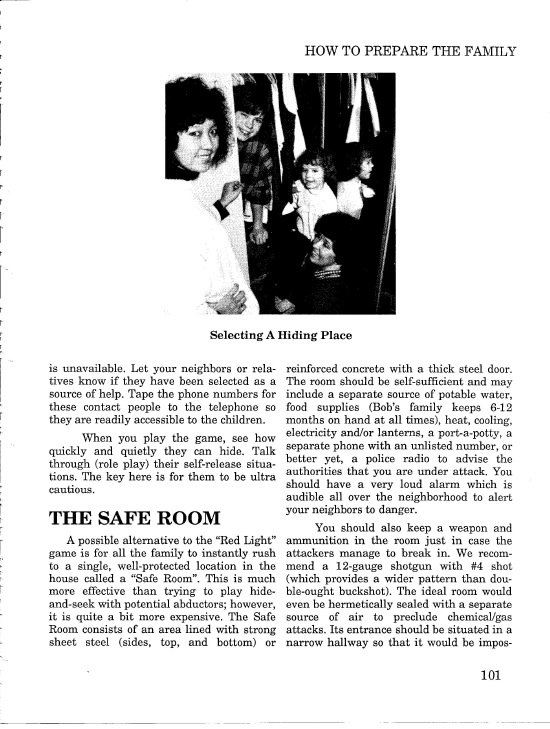 Surviving Hostage Situations The safe room