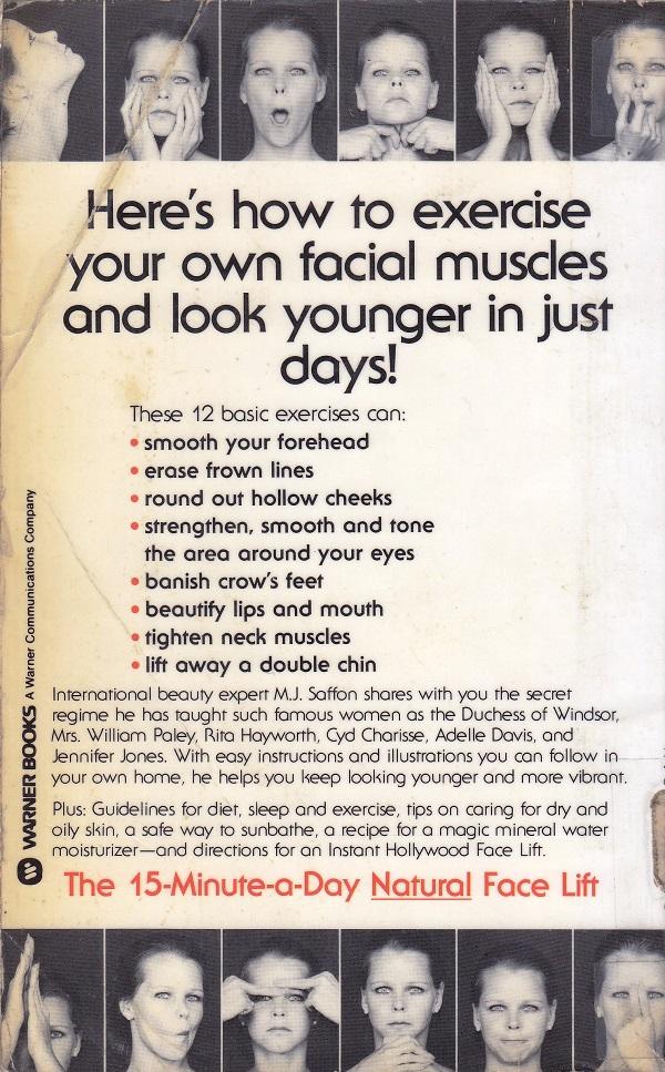 Natural Facelift back cover