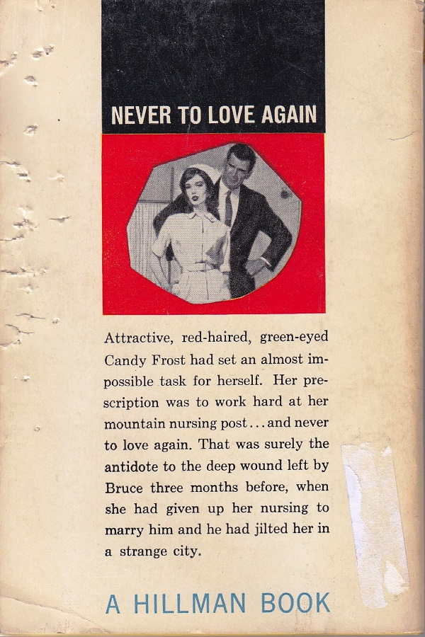 Candy Frost Emergency Nurse - back cover
