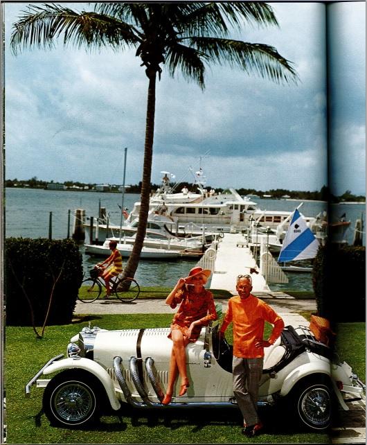 Car and yachts
