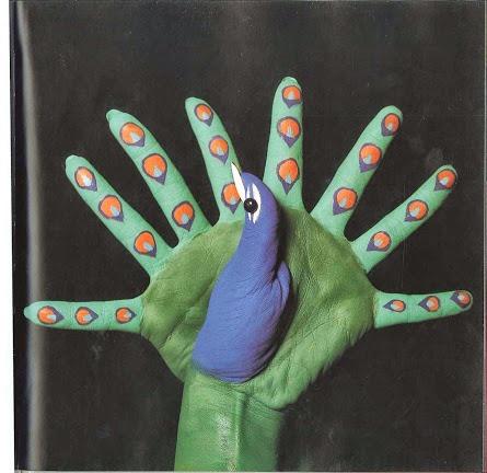 Hands peacock