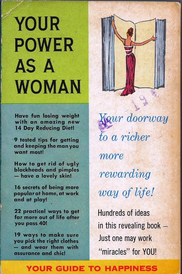 Your Power as a Woman back cover