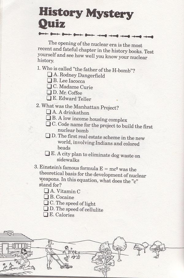 history mystery quiz
