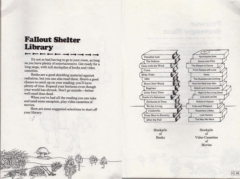 fallout shelter library