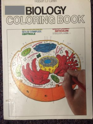 Biology Coloring Book cover