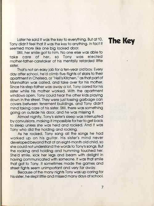 Tony Orlando the Key