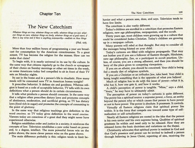 The New Catechism