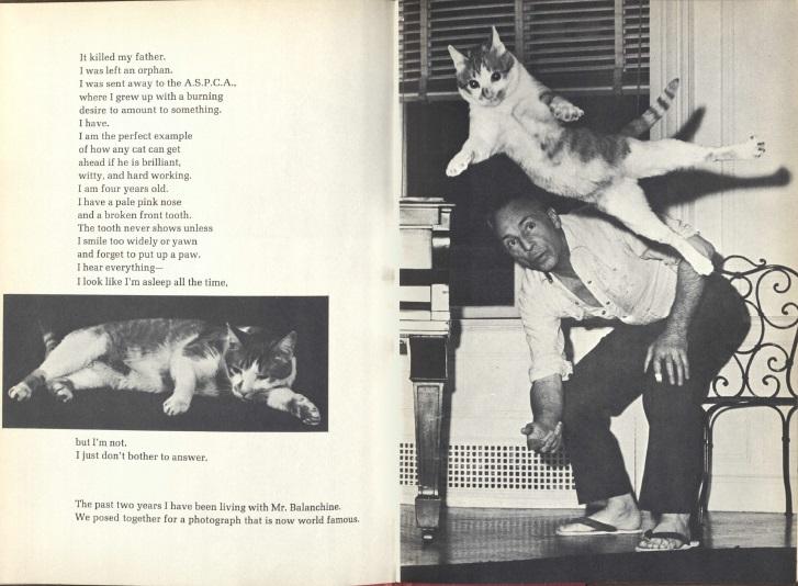 Jumping over Mr. Balanchine