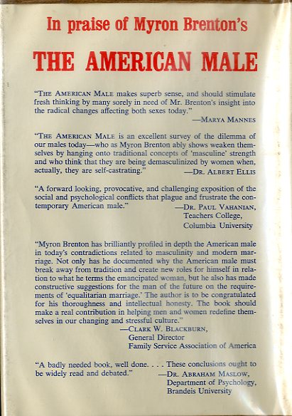 The American Male - back cover