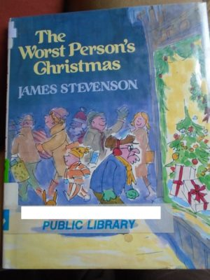 Worst Person's Christmas cover