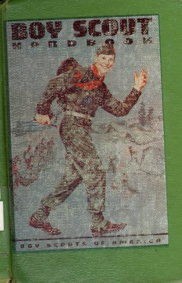 Boy Scout Handbook cover