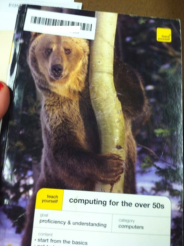 computer for the over 50s cover