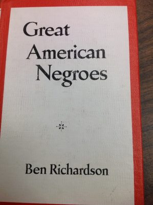 great american negroes cover