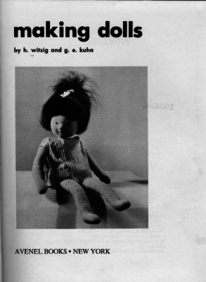 Making Dolls cover
