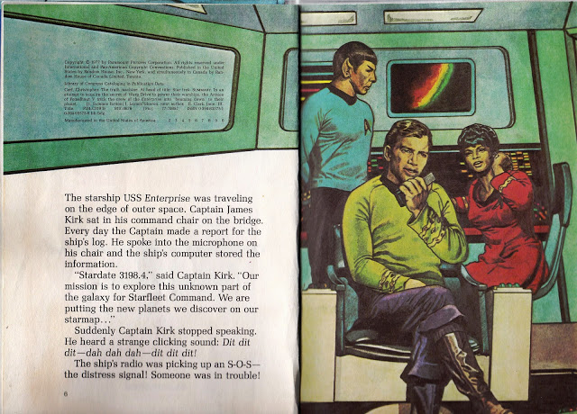 on the bridge of the Enterprise