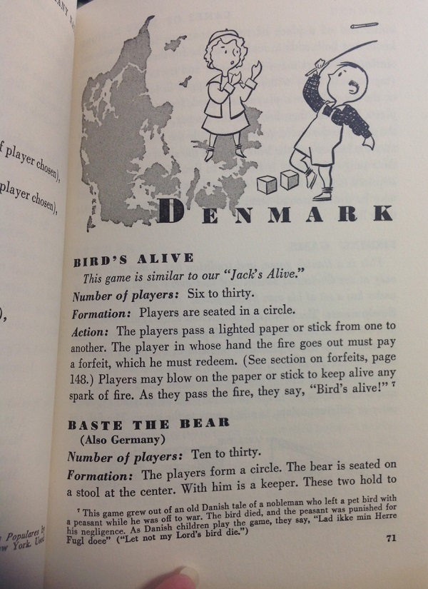 Games of Many Nations - Denmark