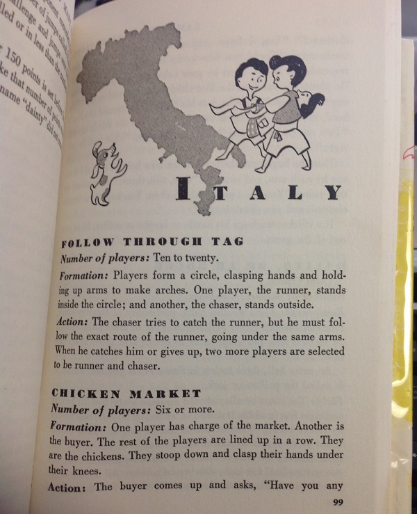 Games of Many Nations - Italy