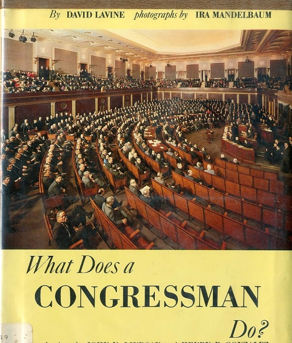 What does a congressman do cover