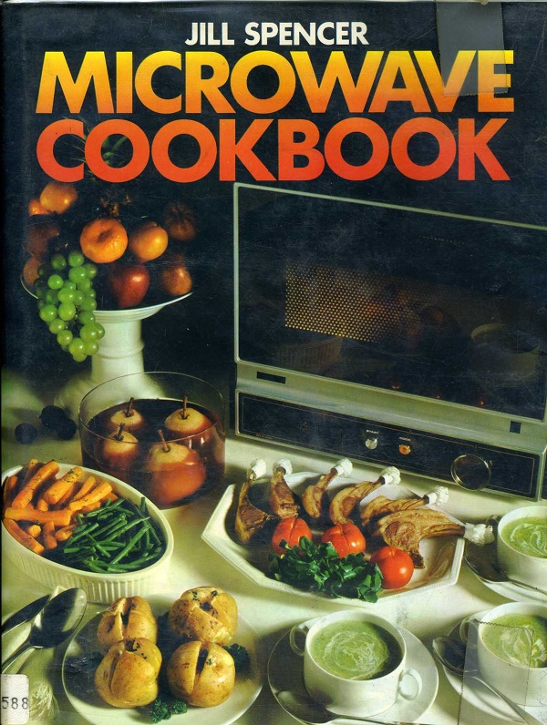 Microwave Cookbook cover