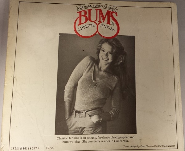 Bums back cover
