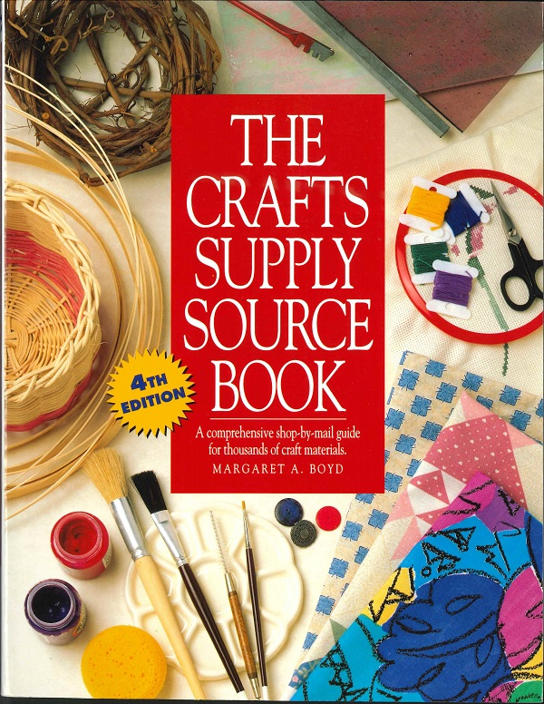 Crafts Supply Source Book - cover