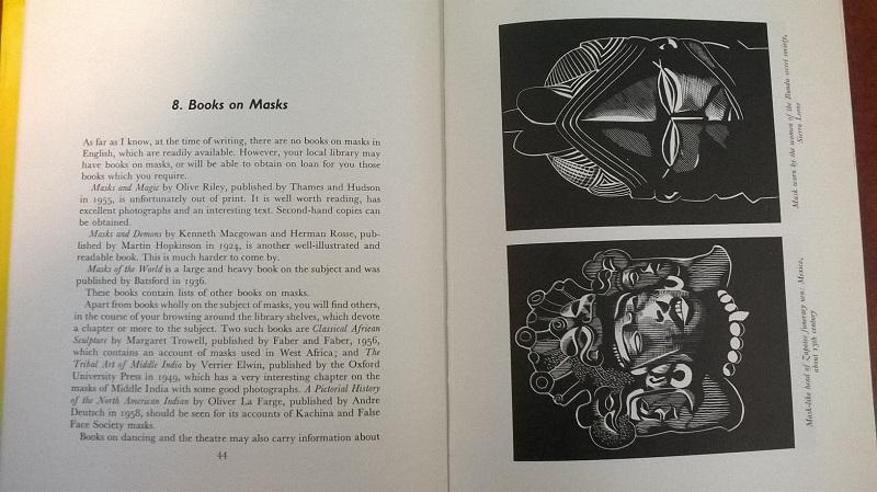 Books on masks
