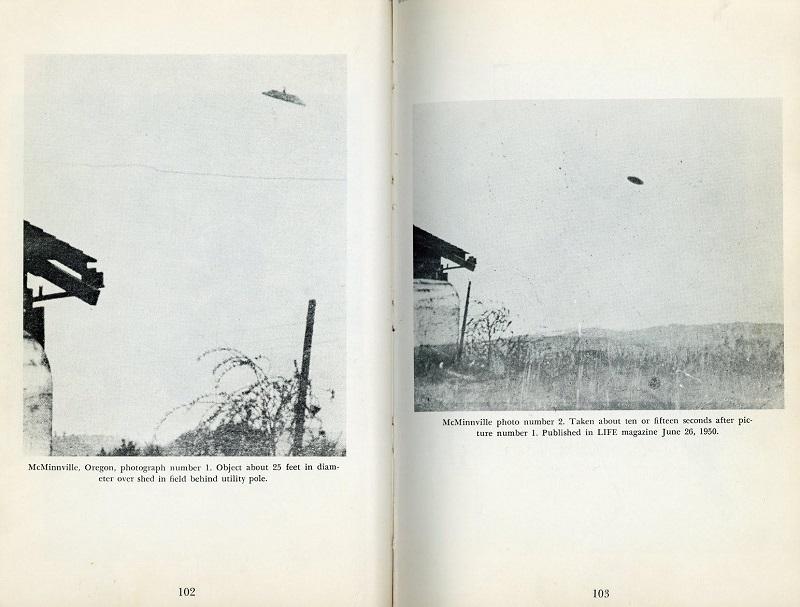 Oregon, 1950 UFO pictures