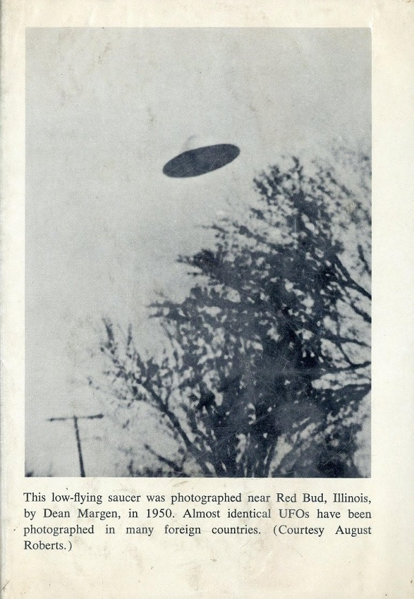 Red Bud, Illinois, 1950 UFO picture