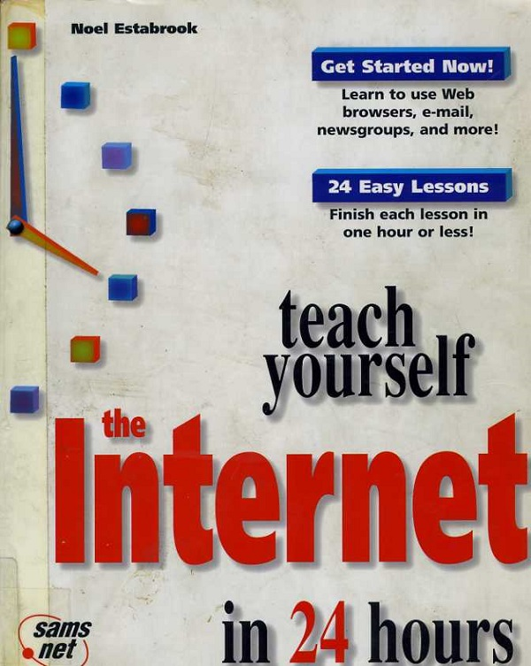 Teach Yourself Internet cover