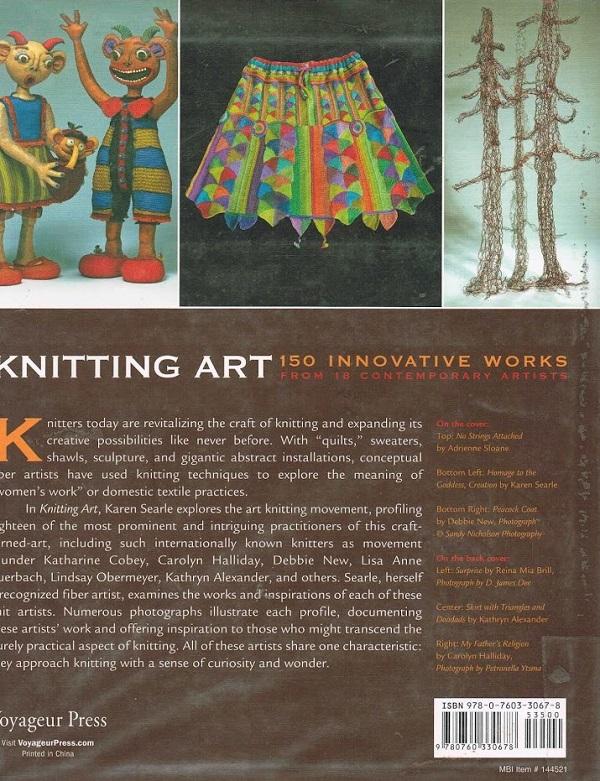 Knitting Art back cover