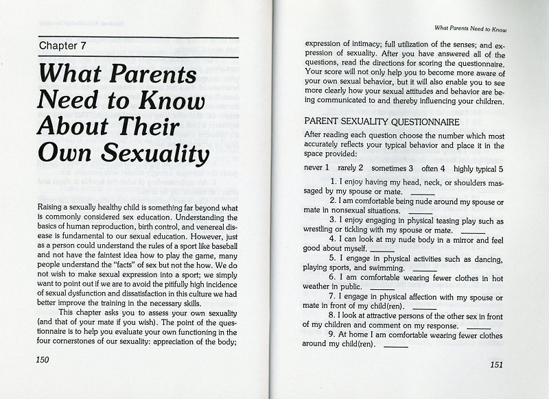What parents need to know about their own sexuality