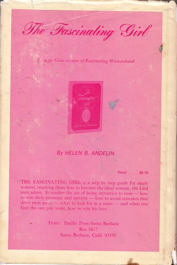 Fascinating Womanhood back cover