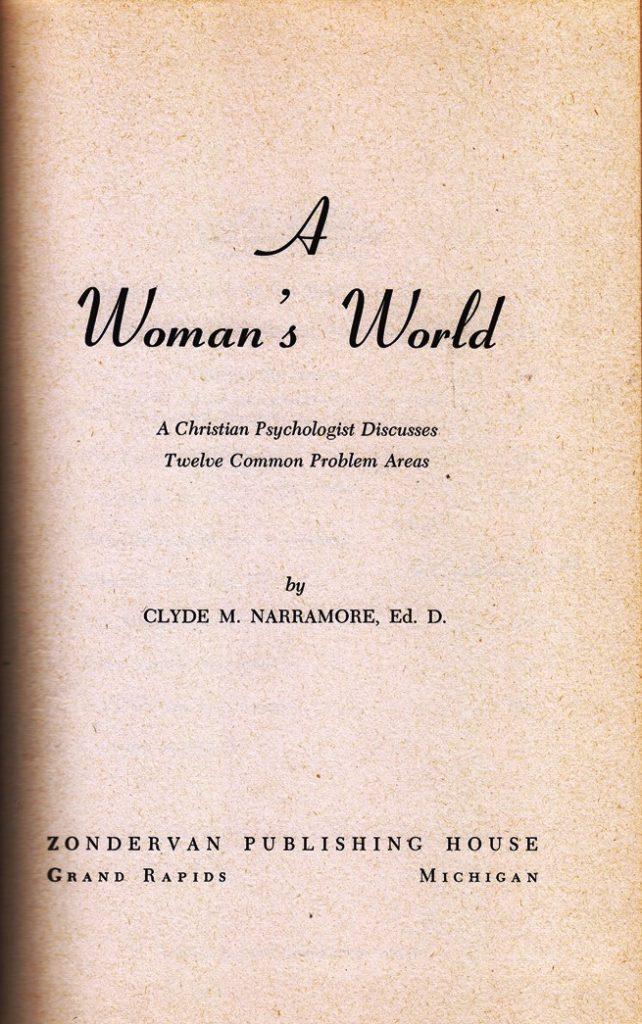 A woman's world
