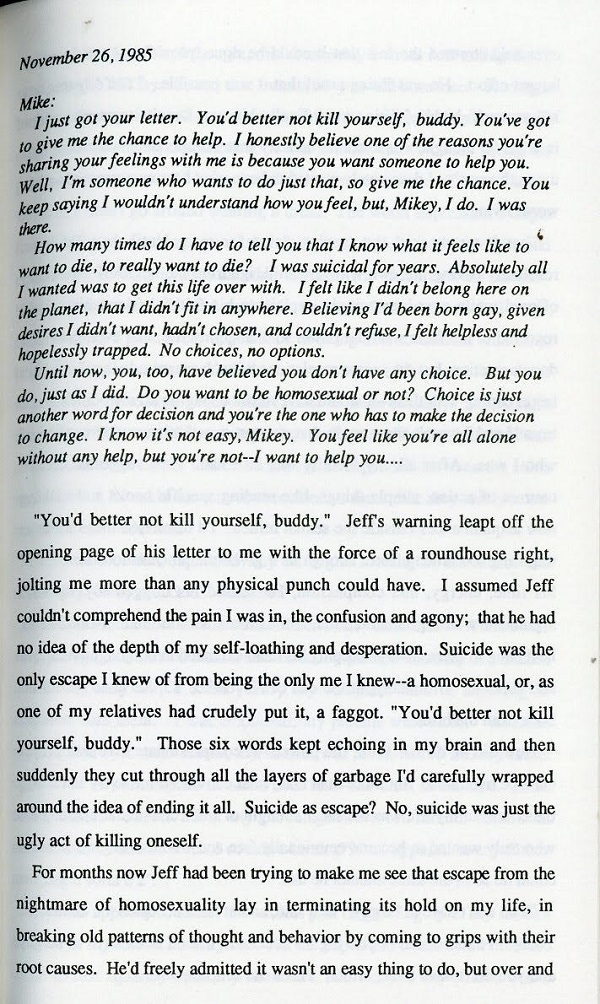 You Don't Have to Be Gay excerpt